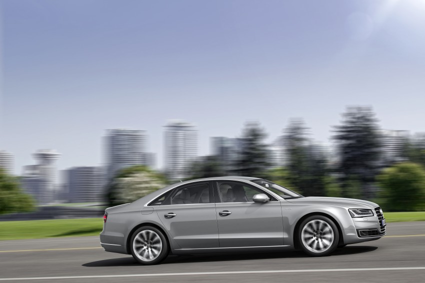 Audi A8 facelift unveiled, to debut at Frankfurt 2013 Image #194089
