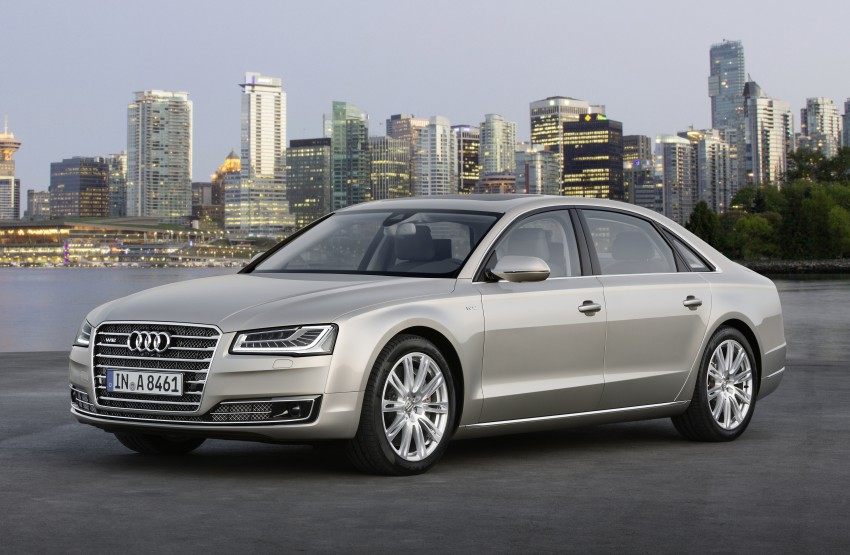 Audi A8 facelift unveiled, to debut at Frankfurt 2013 Image #194090