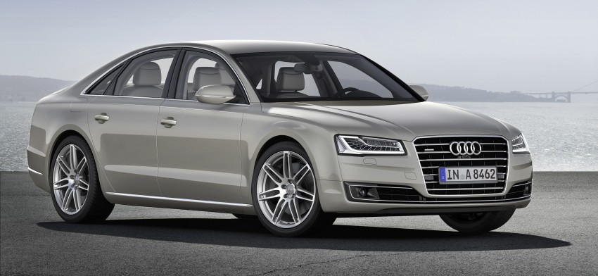 Audi A8 facelift unveiled, to debut at Frankfurt 2013 Image #194093