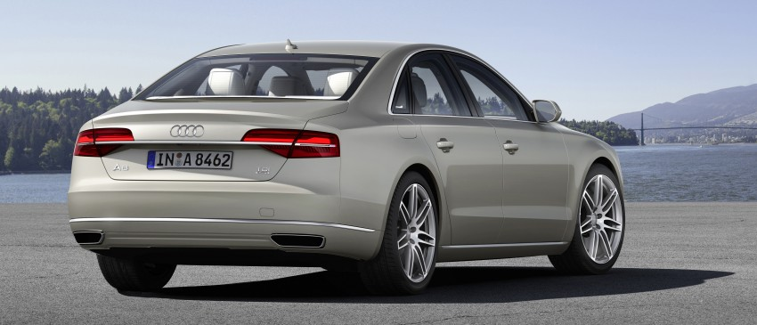 Audi A8 facelift unveiled, to debut at Frankfurt 2013 Image #194095