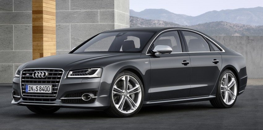 Audi A8 facelift unveiled, to debut at Frankfurt 2013 Image #194078