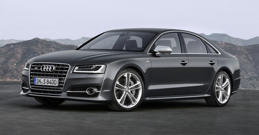 Audi A8 facelift unveiled, to debut at Frankfurt 2013 Image #194081