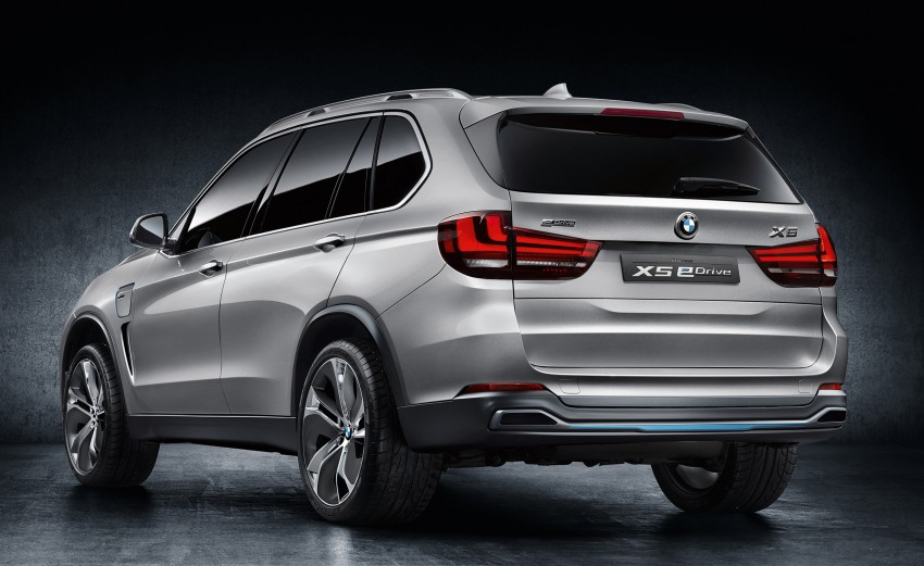 BMW Concept X5 eDrive previews a plug-in hybrid X5 Image #194303