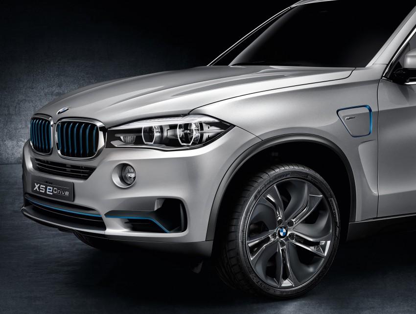 BMW Concept X5 eDrive previews a plug-in hybrid X5 Image #194306