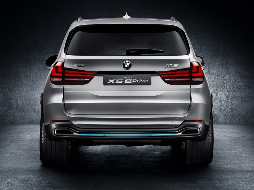 BMW Concept X5 eDrive previews a plug-in hybrid X5 Image #194313