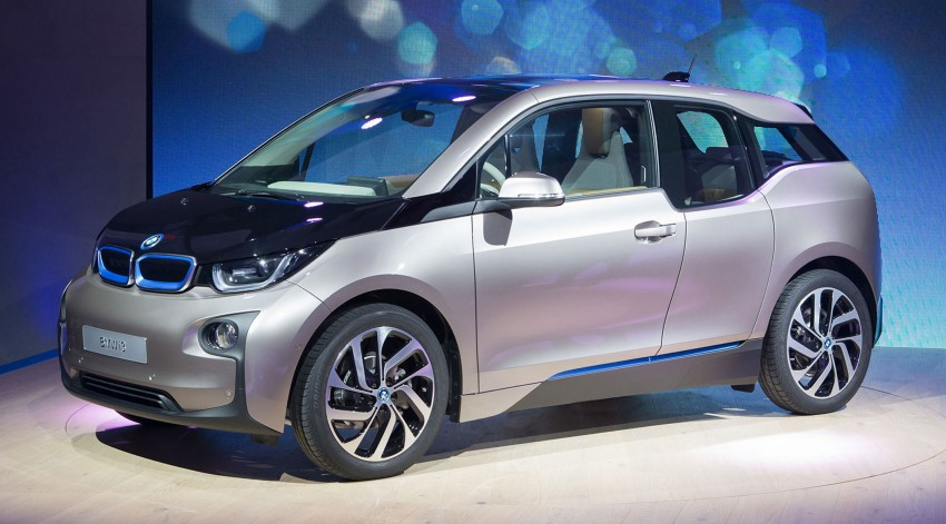 BMW i3 in detail – the world's first mass-produced car to be made primarily of carbon-fibre Image #191287