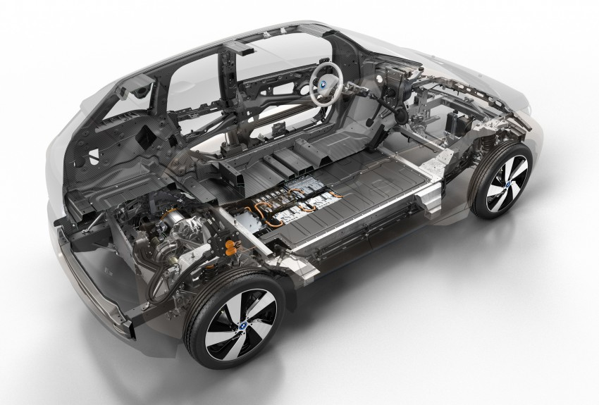 BMW i3 in detail – the world's first mass-produced car to be made primarily of carbon-fibre Image #191288