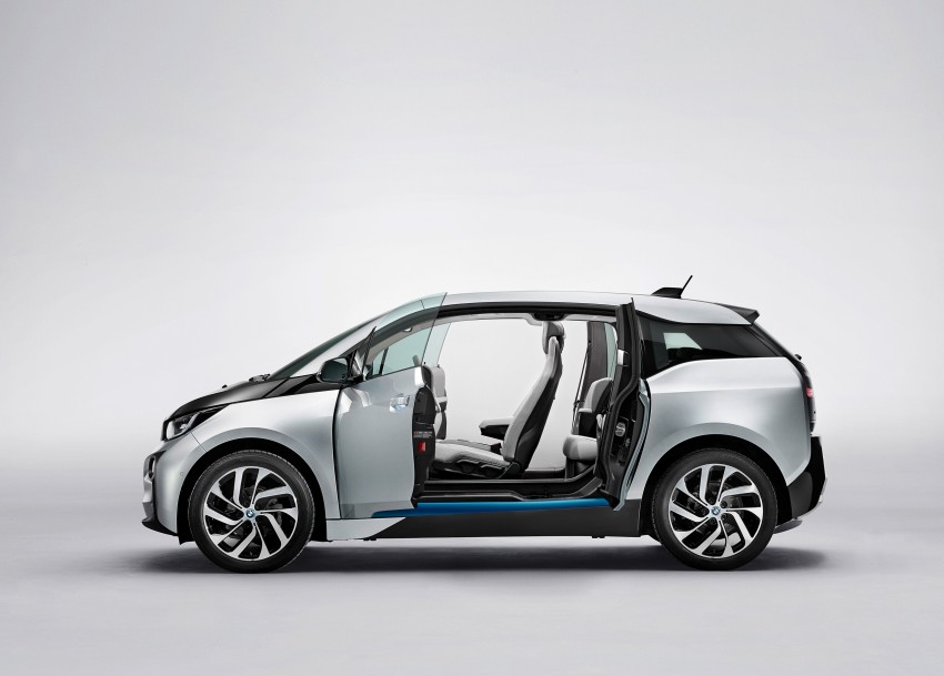New BMW i3 – can its carbon-fibre panels be repaired? Image #191527