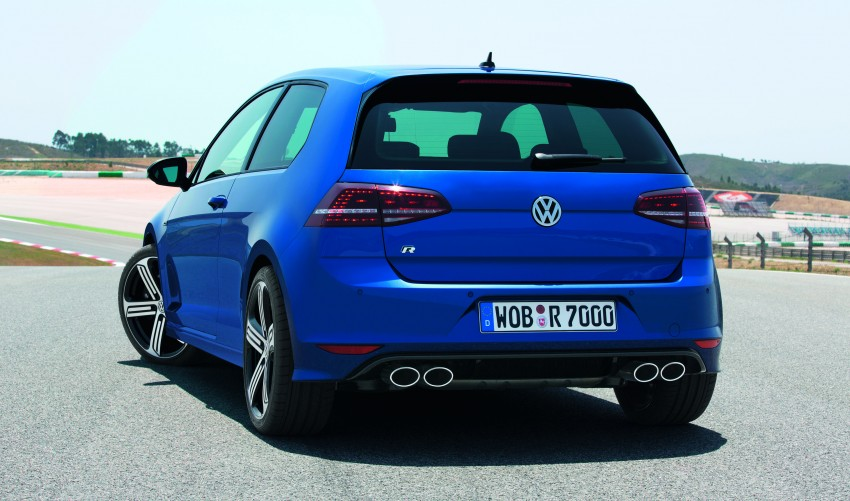 Volkswagen Golf R Mk7 first details – 300 PS, AWD Image #193800