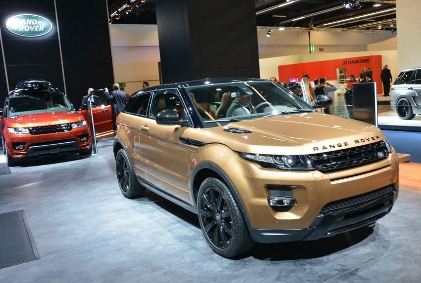 2014 Range Rover Evoque gets new technology Image #199431