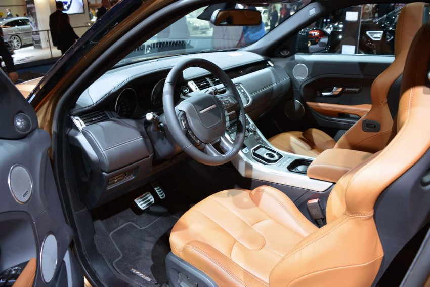 2014 Range Rover Evoque gets new technology Image #199435