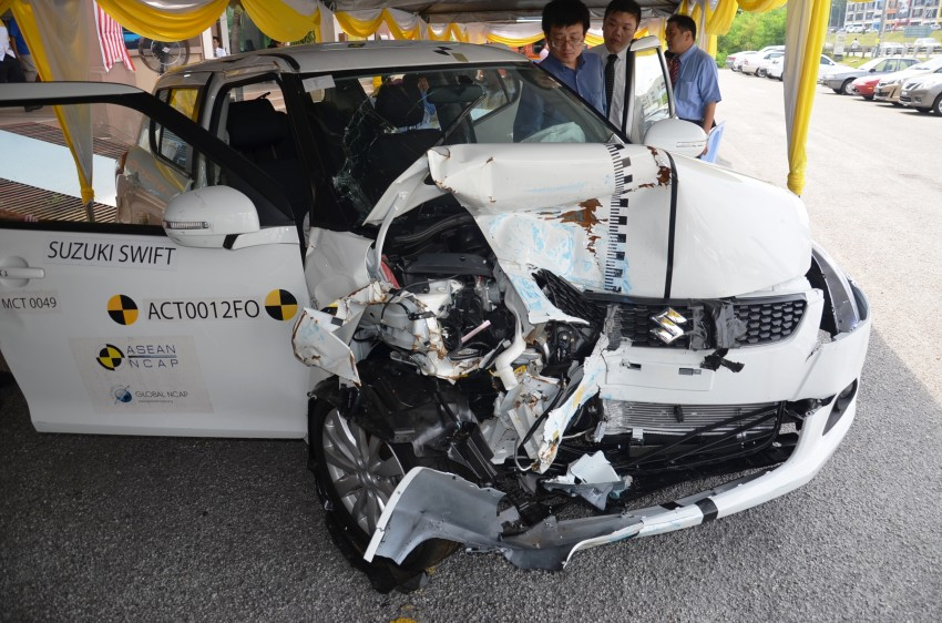 ASEAN NCAP second phase results for 11 cars tested – Toyota Prius, Honda Civic, Subaru XV get 5 stars Image #195497
