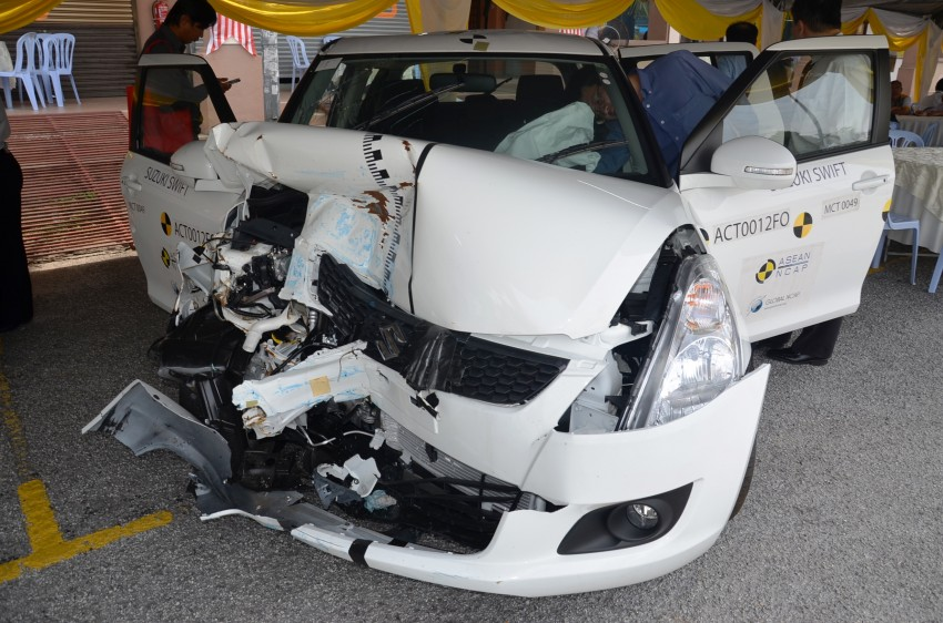 ASEAN NCAP second phase results for 11 cars tested – Toyota Prius, Honda Civic, Subaru XV get 5 stars Image #195498