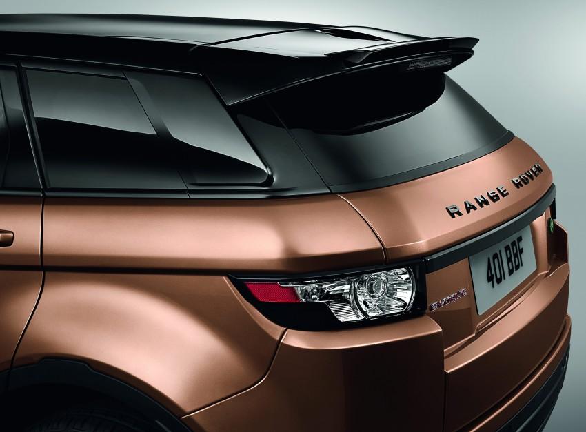 2014 Range Rover Evoque gets new technology Image #193864