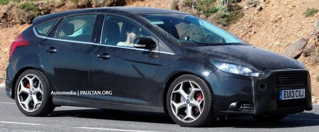 Third-gen Ford Focus ST facelift