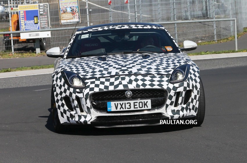 SPYSHOTS: Is this the Jaguar F-Type R-S Coupe? Image #194895