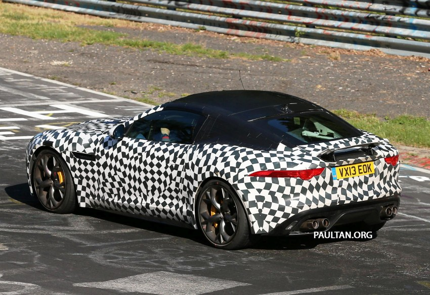SPYSHOTS: Is this the Jaguar F-Type R-S Coupe? Image #194905
