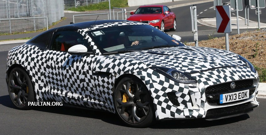 SPYSHOTS: Is this the Jaguar F-Type R-S Coupe? Image #194896