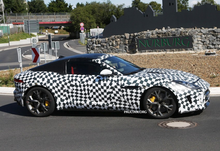 SPYSHOTS: Is this the Jaguar F-Type R-S Coupe? Image #194897