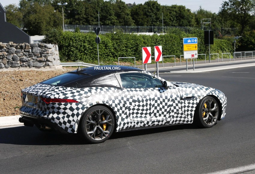 SPYSHOTS: Is this the Jaguar F-Type R-S Coupe? Image #194899
