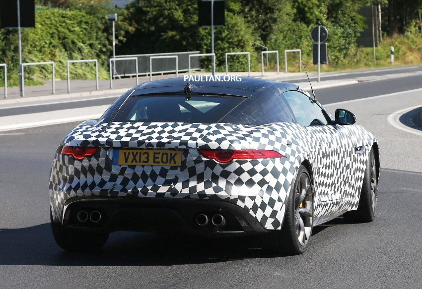 SPYSHOTS: Is this the Jaguar F-Type R-S Coupe? Image #194900