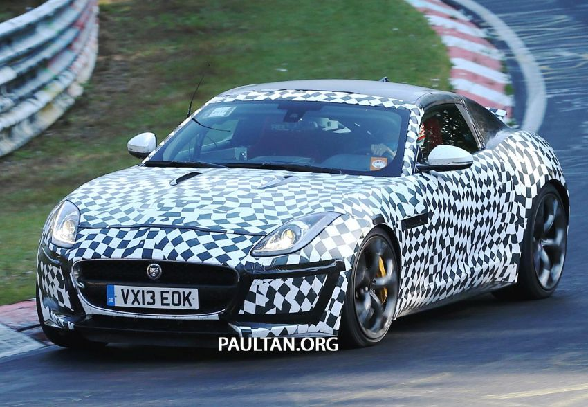 SPYSHOTS: Is this the Jaguar F-Type R-S Coupe? Image #194901