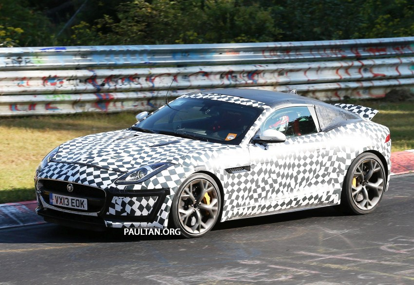 SPYSHOTS: Is this the Jaguar F-Type R-S Coupe? Image #194902