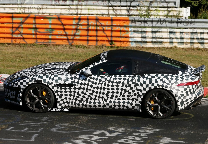 SPYSHOTS: Is this the Jaguar F-Type R-S Coupe? Image #194904