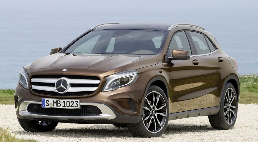 Mercedes-Benz GLA – full details, videos and gallery Image #192652