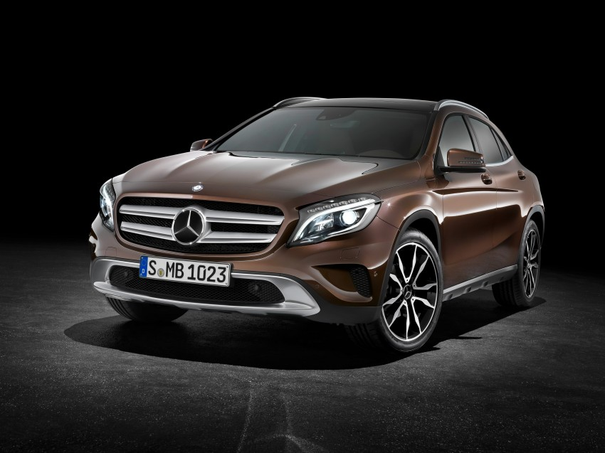 Mercedes-Benz GLA – full details, videos and gallery Image #192593