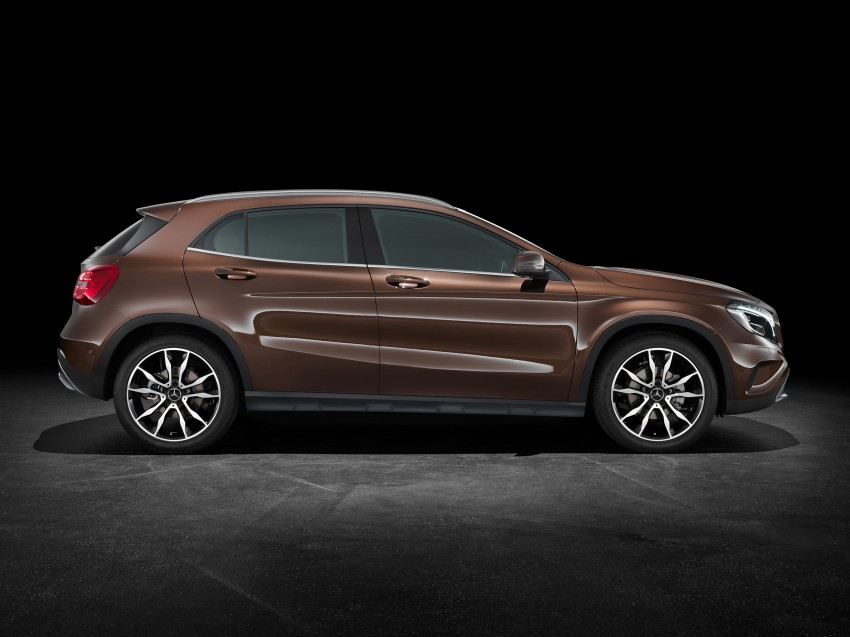 Mercedes-Benz GLA – full details, videos and gallery Image #192594