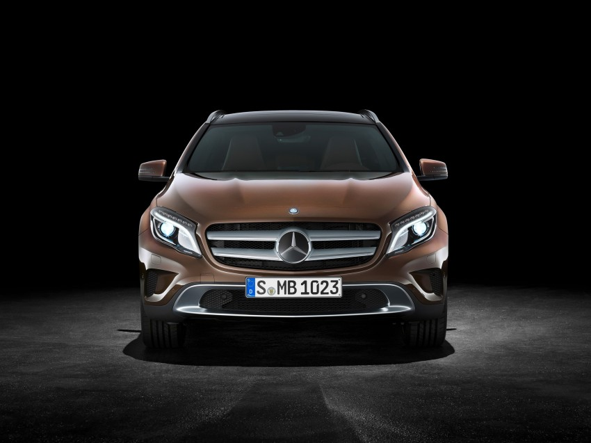 Mercedes-Benz GLA – full details, videos and gallery Image #192595