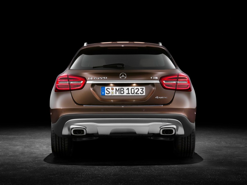 Mercedes-Benz GLA – full details, videos and gallery Image #192596