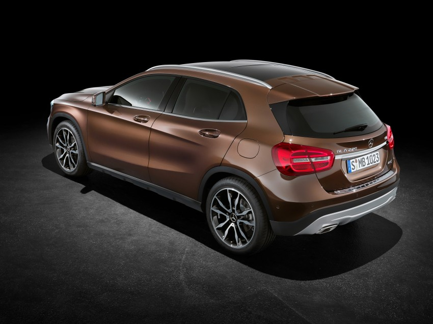 Mercedes-Benz GLA – full details, videos and gallery Image #192597