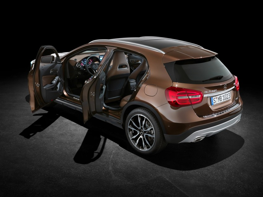 Mercedes-Benz GLA – full details, videos and gallery Image #192598