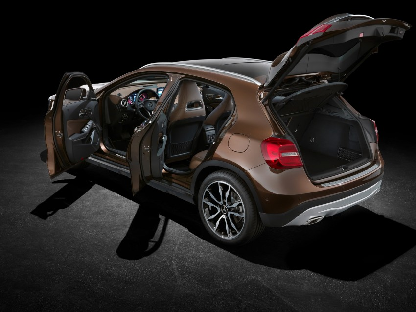 Mercedes-Benz GLA – full details, videos and gallery Image #192599
