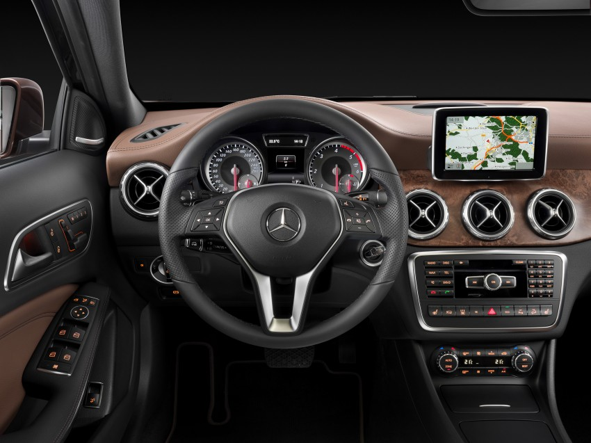 Mercedes-Benz GLA – full details, videos and gallery Image #192600