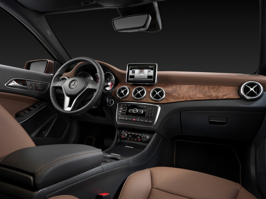 Mercedes-Benz GLA – full details, videos and gallery Image #192601
