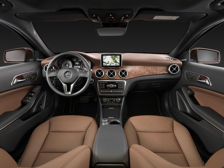 Mercedes-Benz GLA – full details, videos and gallery Image #192602