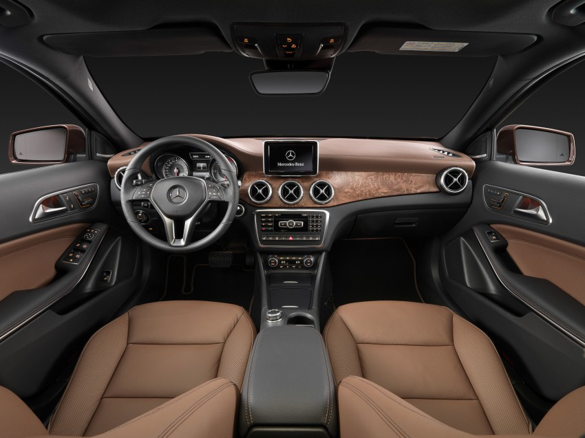 Mercedes-Benz GLA – full details, videos and gallery Image #192603