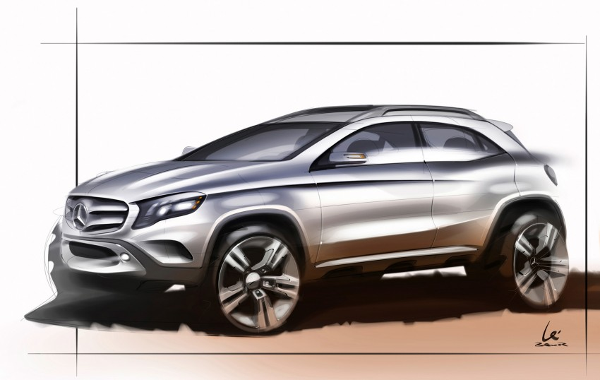 Mercedes-Benz GLA – full details, videos and gallery Image #192604