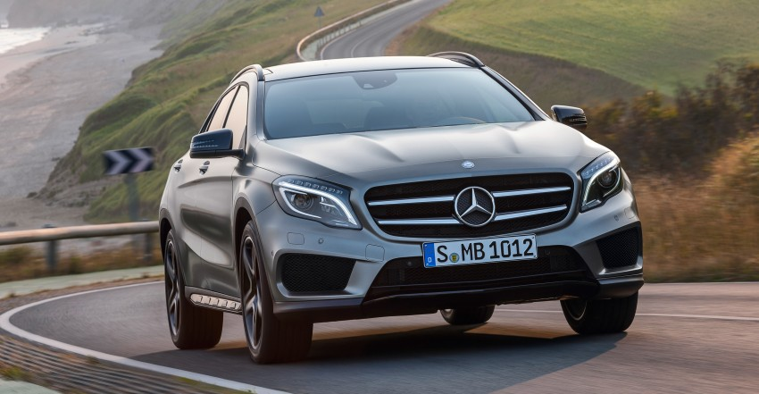Mercedes-Benz GLA – full details, videos and gallery Image #192607