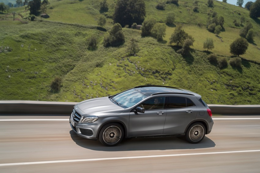 Mercedes-Benz GLA – full details, videos and gallery Image #192609