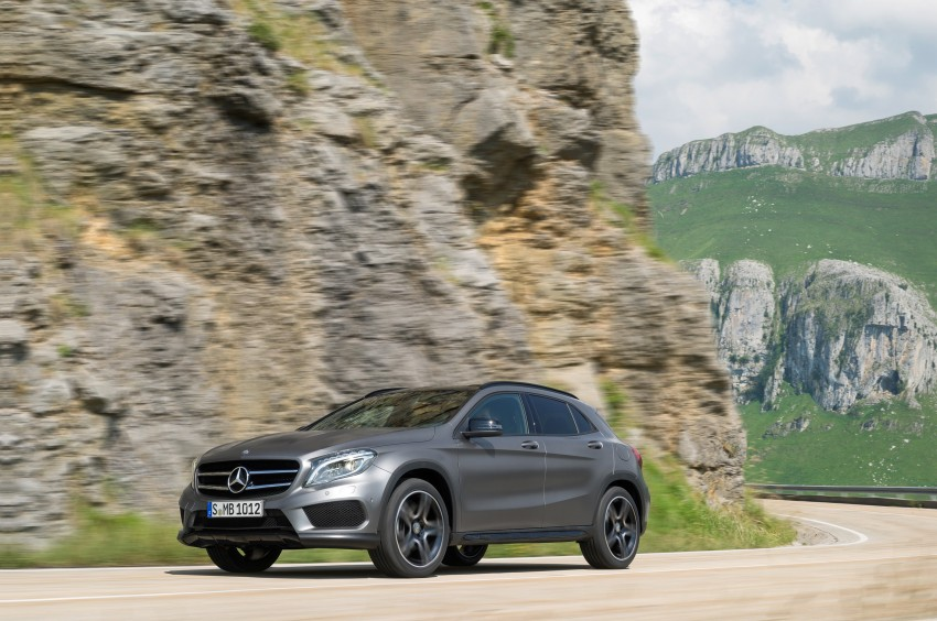 Mercedes-Benz GLA – full details, videos and gallery Image #192610