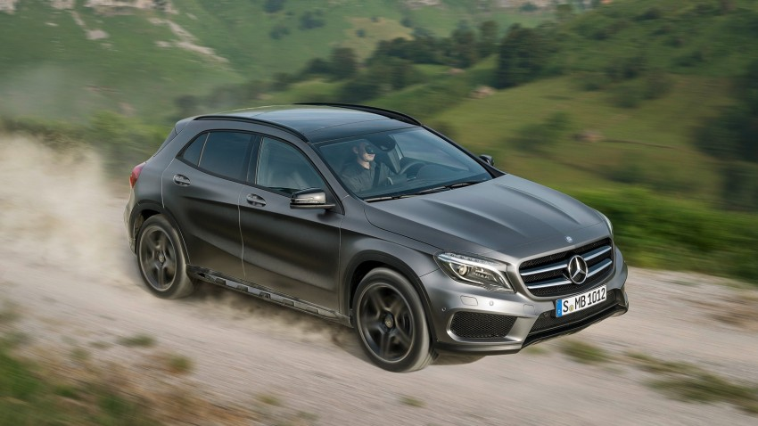 Mercedes-Benz GLA – full details, videos and gallery Image #192612