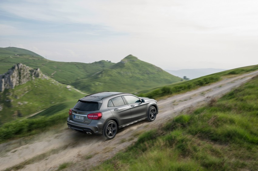 Mercedes-Benz GLA – full details, videos and gallery Image #192613