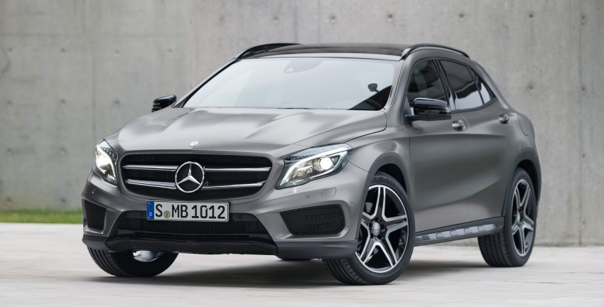 Mercedes-Benz GLA – full details, videos and gallery Image #192615