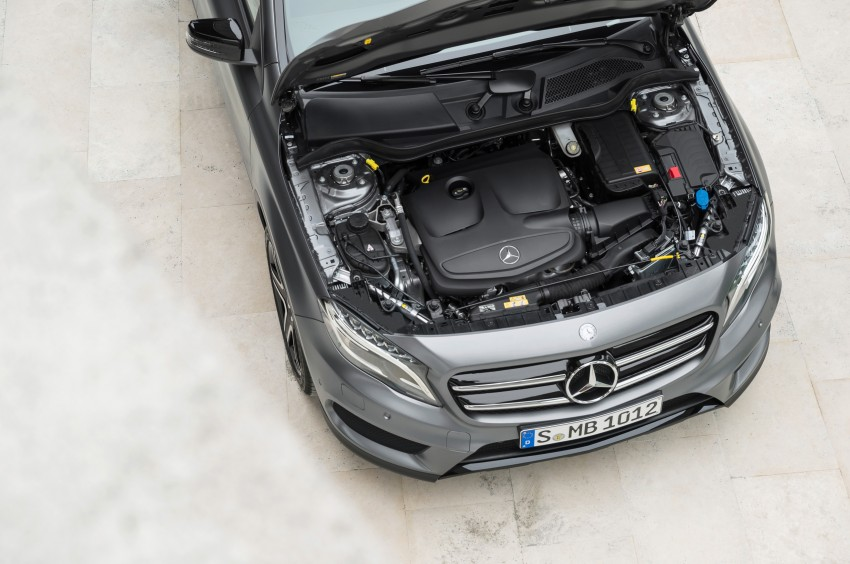 Mercedes-Benz GLA – full details, videos and gallery Image #192616