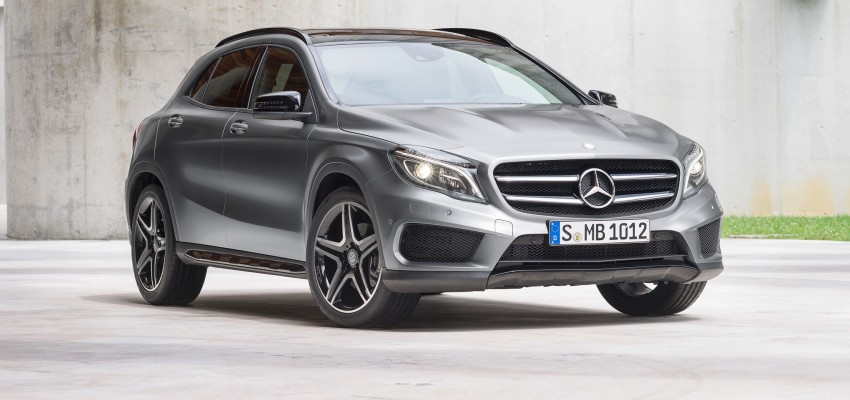 Mercedes-Benz GLA – full details, videos and gallery Image #192617