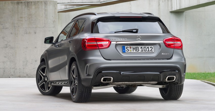 Mercedes-Benz GLA – full details, videos and gallery Image #192618